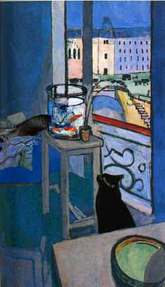 The Cat Said Art: Famous Artists' Cats | Cat Art | Scoop.it
