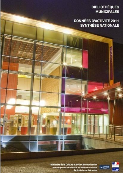 Données d'activité 2011 des bibliothèques municipales : synthèse nationale | Bibliothèques et Cie | Scoop.it