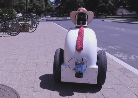 Stanford's 'Jackrabbot' robot will attempt to learn the arcane and unspoken rules of pedestrians | The Robot Times | Scoop.it