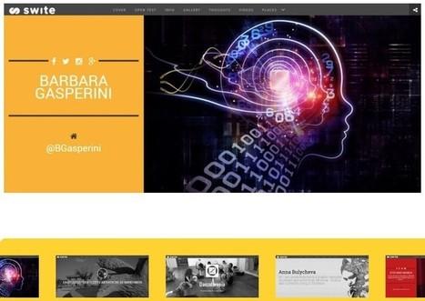 Swite. Créer un site avec le contenu de vos réseaux sociaux. | SocialWebBusiness | Scoop.it