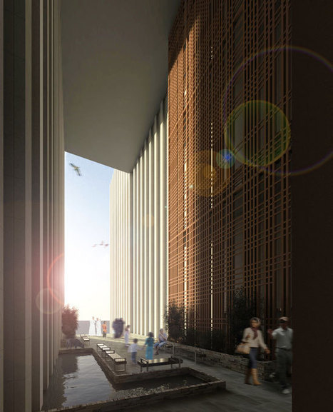 Skyscraper Facade Reinvented for Extreme Desert Climate | The Architecture of the City | Scoop.it
