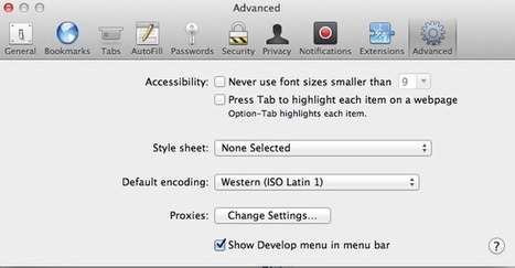 7 Cool Mac Safari Tips for an Enhanced Browsing Experience | All Things Mac | Scoop.it