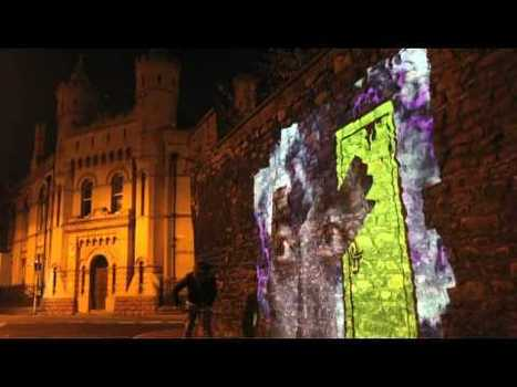 Artists Paint Paris, Berlin and London with High-Tech Video Graffiti ... | Emerging Media (while dreaming of Paris!) | Scoop.it