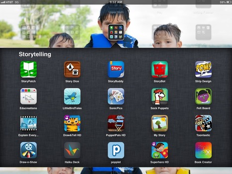 Folder Full of Storytelling Apps | Integrating Technology in the Classroom | Scoop.it