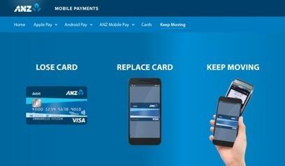 ANZ remplace instantanément les cartes perdues | patrimoine bourgogne | Scoop.it