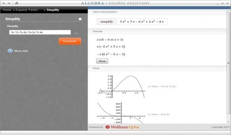 5 Wolfram|Alpha Apps That Are Perfect For The Classroom | Using Technology in Education | Scoop.it