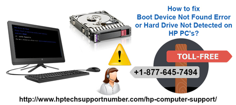 How to fix Boot Device Not Found Error or Hard