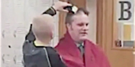 Big-Hearted Principal Gets Head Shaved To Back Up Bullied Student | Innovation Disruption in Education | Scoop.it