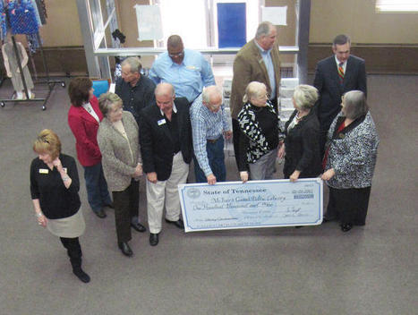 Dyersburg State Gazette: McIver's Grant Library check presentation | Tennessee Libraries | Scoop.it