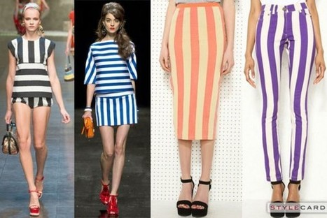 Trends: Super Stripes | StyleCard Fashion Portal | Fashion for all man kind | Scoop.it