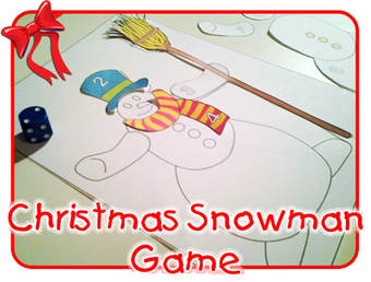 Christmas Snowman Game - Free Activity Sheet! | Learn Languages | Scoop.it