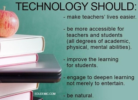 5 Features Technology Must Have Before Classroom Use - Edudemic | library sci | Scoop.it