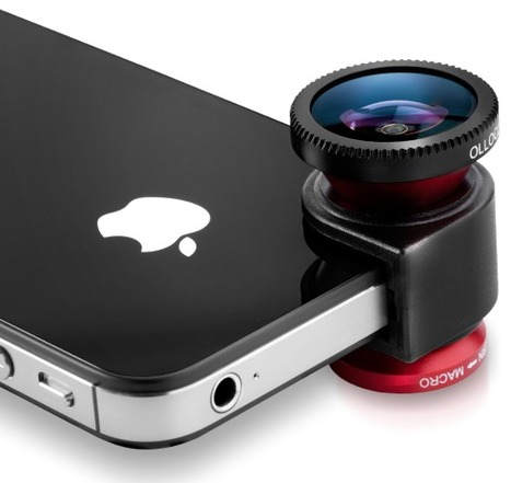 CES 2013: Olloclip Launches iPhone5 Lens, Fifth Gen iPod Touch Adapter, Compatible Case -- AppAdvice | iPad for High School | Scoop.it
