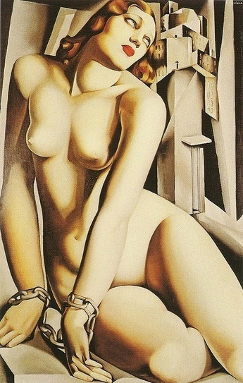 Lovers Andromeda (1929) by Tamara de Lempicka | Sex History | Scoop.it