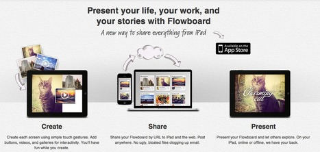 Create, Share, Present. on Your iPad | Cool Science & Technology | Scoop.it
