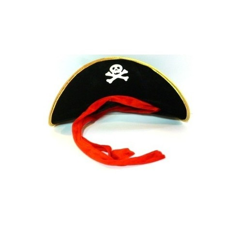 Gorro Pirata Tela Adulto  3dc6b52ce12