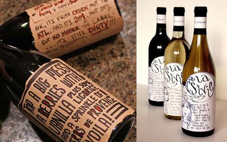 100 étiquettes de vin originales | Oenologie | Scoop.it