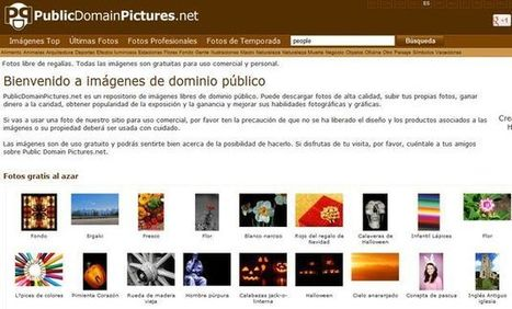 PublicDomainPictures, repositorio con más de 23.000 imágenes libres para uso personal y comercial | New Technology in Education | Scoop.it