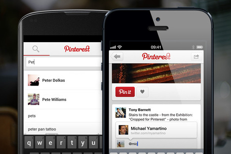 Pinterest Adds Mobile Mentions & Notifications like Facebook and Twitter | Social Media Today | Social Media Article Sharing | Scoop.it