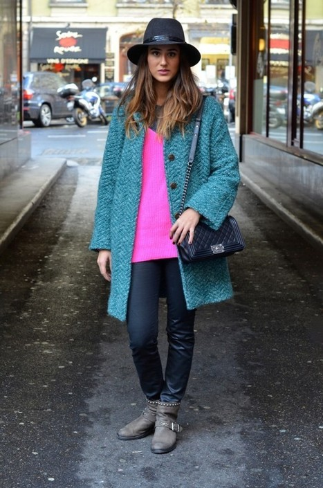 THE POC (POP OF COLOR) | Swiss fashion bloggers | Scoop.it