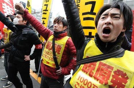 Fukushima: des travailleurs en colère après la mort d'un des leurs | Japan Tsunami | Scoop.it