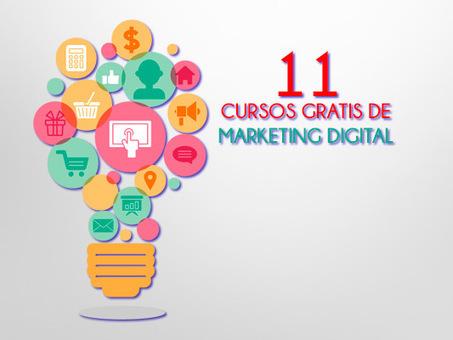 11 cursos gratis de marketing digital dictados por universidades top | MKT | Scoop.it
