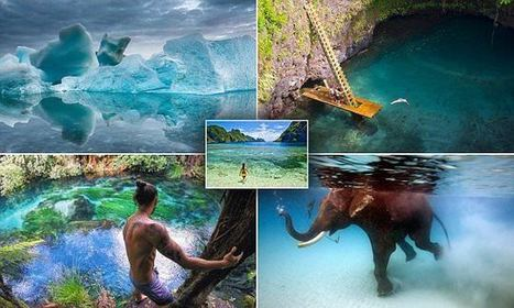 Spectacular Images Capture The World's Clearest Waters | Everything from Social Media to F1 to Photography to Anything Interesting | Scoop.it