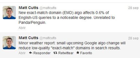 Google penaliza los Exact Match Domains | Consejos SEO para captar clientes | Scoop.it