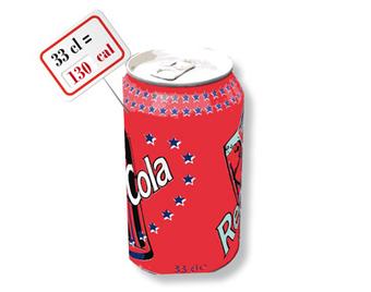 Soda au cola : 130 calories pour 33 cl - EurekaSanté par VIDAL | Sécurité sanitaire des aliments | Scoop.it