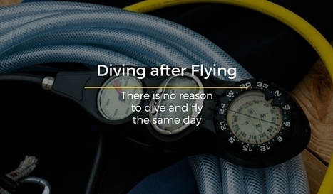 What you Should Know About Diving and Flying? | Bookyourdive | Scoop.it