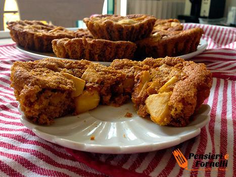 Tortine di mele - ricetta senza glutine - Pensieri e Fornelli   Celiachia   Scoop.it