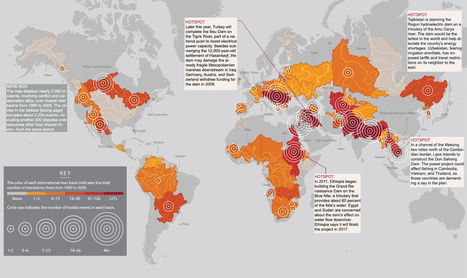 A heatmap of war over water | CaseWorthy | Caseworthy | Scoop.it