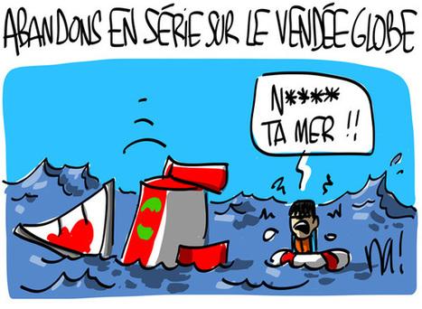 Abandons en série sur le Vendée Globe | Baie d'humour | Scoop.it