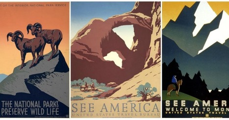 Visualizing The National Parks - Celebrating 100 Years Of America's Wonder | Design in Education | Scoop.it