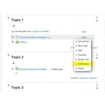 Moodle plugins directory: Resource notification | tipsmoodle | Scoop.it