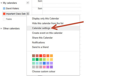 The Educator's Guide to Google Calendar | The Edublogger | The Best Of Google | Scoop.it