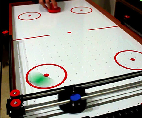 Air Hockey Robot Evo | Heron | Scoop.it