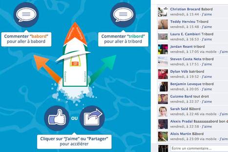 Le premier jeu Facebook qui se joue avec les commentaires et les partages ! | Social Media | Scoop.it