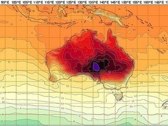 Off the Charts, Literally: Australia So Hot They Had to Add Colors to the Weather Map | Vertical Farm - Food Factory | Scoop.it