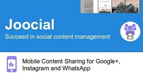 Mobile Sharing for G , Instagram, WhatsApp and VKontakte #joomla   Joomla Community News   Scoop.it