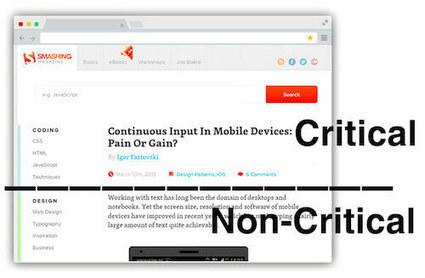 Understanding Critical CSS | Lectures web | Scoop.it