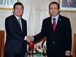 Activités de Truong Tan Sang en Indonésie - Vietnam+ | Mer de Chine | Scoop.it
