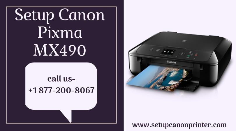 How To Setup Canon Pixma Mx490 Printer