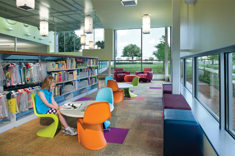 How To Design Library Space with Kids in Mind | Library by Design | School Library Spaces | Scoop.it