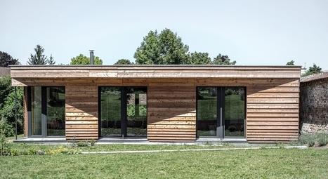 maison bois contemporaine\' in Construire Tendance, Page 14   Scoop.it