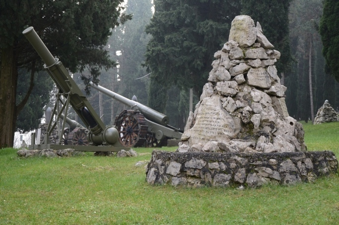Redipuglia Italy Memorial Is The Resting Plac