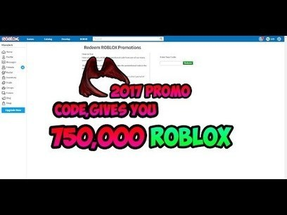 Promo Codes Roblox Pagr Roblox Working 750 000 Robux Promo Code Pro