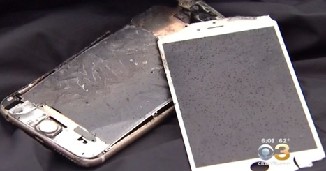 N.J. college student's iPhone explodes in pocket during class | MobilePhones | Scoop.it