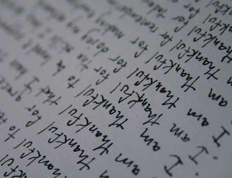 » How Positive Writing Can Increase Life-Satisfaction | The Good Life | Scoop.it