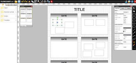 FlowChart.com: Free tool to make diagrams online | Teaching in Higher Education | Scoop.it